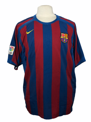 "FC Barcelone 2005-2006 HOME Taille ""XL"""