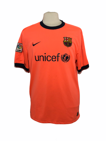 "FC Barcelone 2009-2010 AWAY Taille ""XL"""