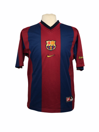"FC Barcelone 1998-1999 HOME Taille ""M"""