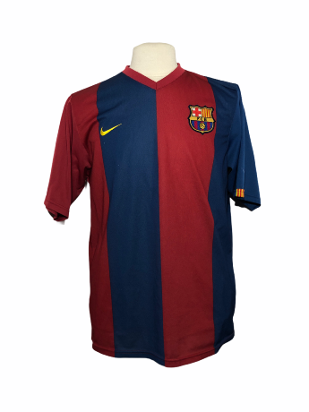 "FC Barcelone 2006-2007 HOME Taille ""XL"""