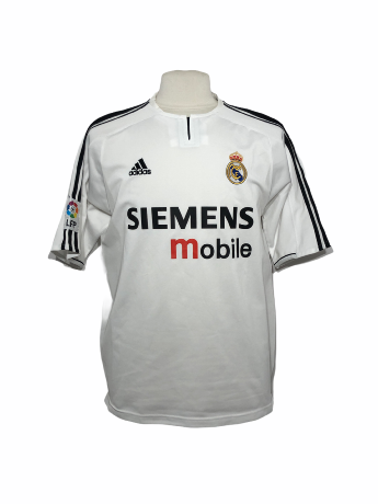 "Réal Madrid 2003-2004 HOME Taille ""L"""