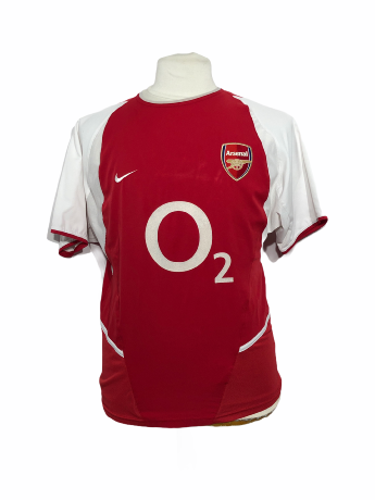 "Arsenal 2002-2003 HOME Taille ""S"""