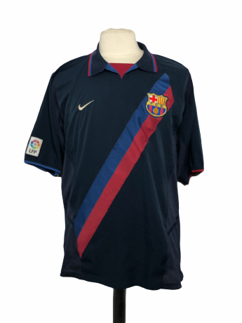 "FC Barcelone 2002-2003-2004 AWAY Taille ""XL"""