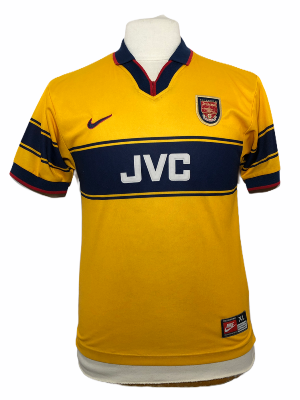 "Arsenal 1997-1998 AWAY Taille ""XL"" Enfant"