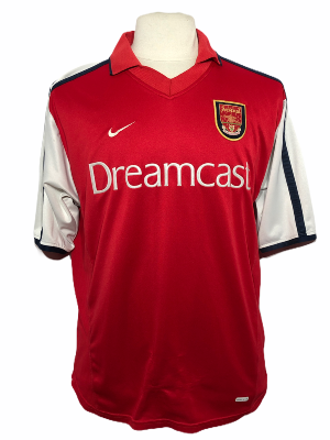 "Arsenal 2000-2001 HOME Taille ""XL"""