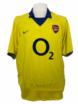 "Arsenal 2003-2004 AWAY Taille ""XL"""