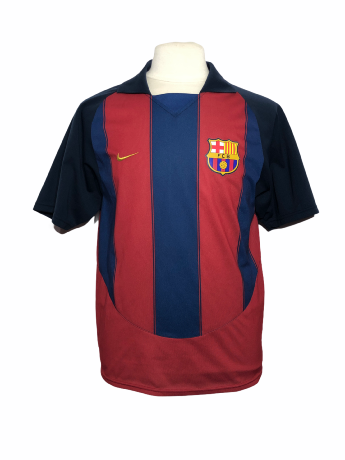 "FC Barcelone 2003-2004 HOME Taille ""M"""