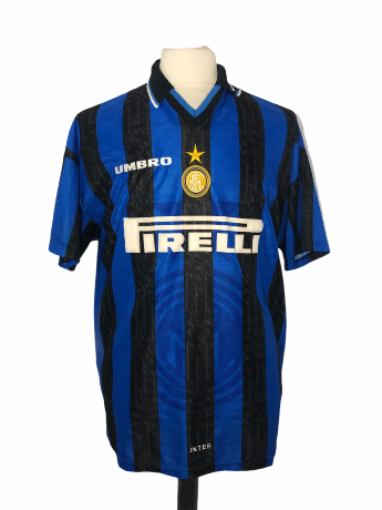 "Inter Milan 1997-1998 HOME Taille ""XL"""