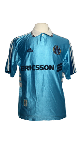 "Marseille 1998-1999 AWAY Taille ""M"" 5 L.BLANC"