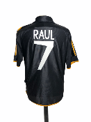 "Réal Madrid 1999-2000 AWAY Taille ""M"" 7 RAUL"