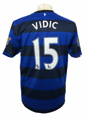 "Manchester United 2011-2012 AWAY Taille ""L"" #15 VIDIC"