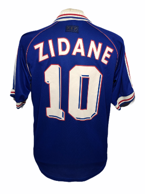 "France 1999 HOME Taille ""M"" #10 ZIDANE"