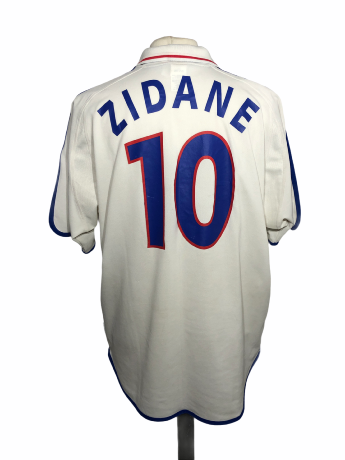 "France 2000 Euro AWAY Taille ""XL"" 10 ZIDANE"