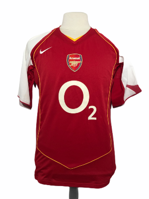 "Arsenal 2004-2005 HOME Taille ""M"""