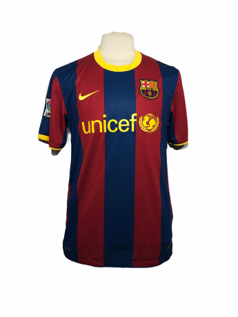 "FC Barcelone 2010-2011 HOME Taille ""L"""