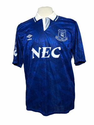 "Everton 1991-1992 HOME Taille ""XL"""
