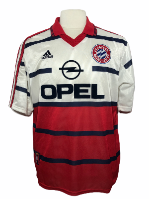 "Bayern Munich 1998-1999 AWAY Taille ""L"""