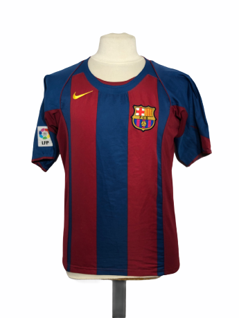"FC Barcelone 2004-2005 HOME Taille ""S"" #8 GIULY"