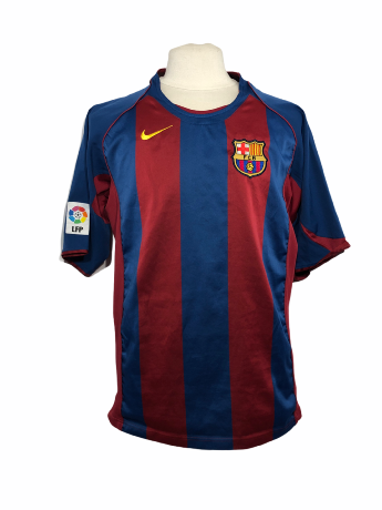 "FC Barcelone 2004-2005 HOME Taille ""XL"""