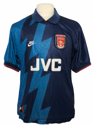 "Arsenal 1995-1996 AWAY Taille ""L"""