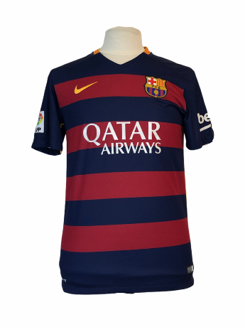 "FC Barcelone	2015-2016 HOME Taille ""M"""
