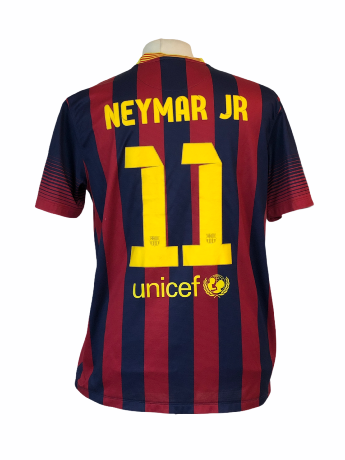 "FC Barcelone	2013-2014 HOME Taille ""L"" 11 Neymar"
