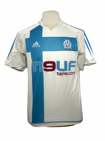 "Marseille 2004-2005 HOME Taille ""M"" Stock Pro"