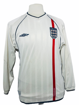 "Angleterre 2001-2002 HOME Taille ""M"""