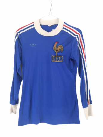 "France 1978 HOME Taille ""XS"" Adidas Ventex"