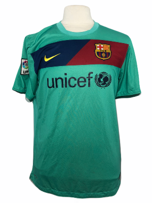 "FC Barcelone 2010-2011 AWAY Taille ""L"""