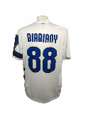 "Inter Milan 2010-2011 AWAY Taille ""XL"" #88 BIABIANY"