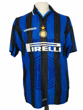 "Inter Milan 1997-1998 HOME Taille ""L"""