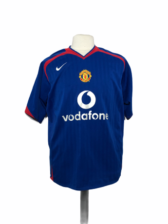 "Manchester United 2005-2006 AWAY Taille ""L"""