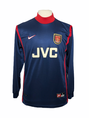 "Arsenal 1998-1999 Goal ""S"" Goalkeeper Gardien"