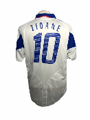 "France 2004 AWAY Taille ""L"" 10 ZIDANE"