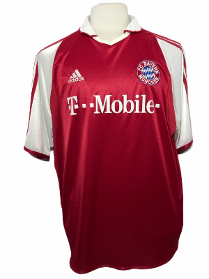 "Bayern Munich 2003-2004	HOME Taille ""XL"""
