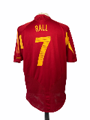 "Espagne	2004 HOME Taille ""XL"" #7 RAUL"