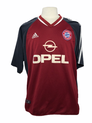 "Bayern Munich 2001-2002	AWAY Taille ""XL"""
