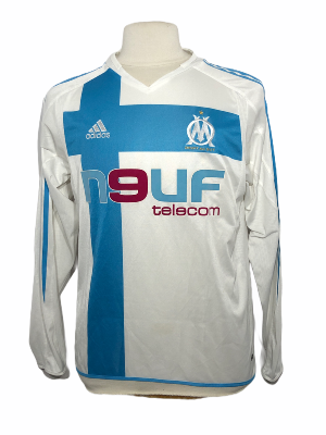 "Marseille 2004-2005 HOME Taille ""M"" Manches longues"