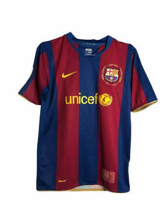 "FC Barcelone 2007-2008 HOME Taille ""Enfant"""