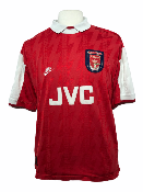 "Arsenal 1994-1995 HOME Taille ""XL"" #10 BERGKAMP"