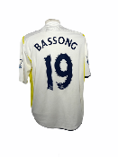 "Tottenham 2009-2010 HOME Taille ""XXL"" #19 BASSONG"