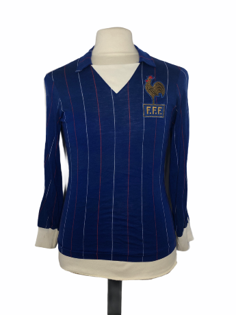"France 1982 HOME Taille ""M"" Adidas Ventex"
