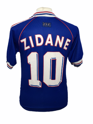 "France 1999 HOME Taille ""S"" #10 ZIDANE"