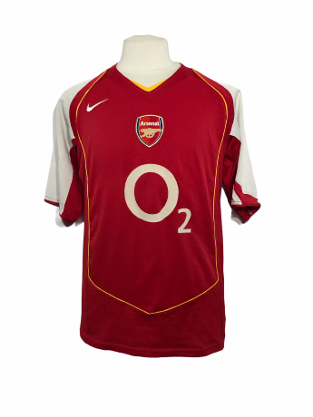 "Arsenal 2004-2005 HOME Taille ""L"""