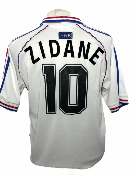 "France 1998 AWAY Taille ""M"" #10 ZIDANE"