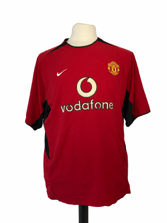 "Manchester United 2003-2004 HOME Taille ""XL"" 13 PARK"