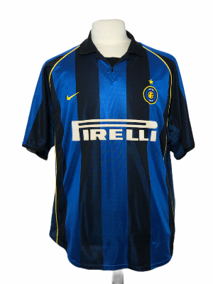 "Inter Milan 2001-2002 HOME Taille ""L"""