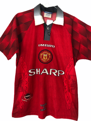 "Manchester United 1996-1997 HOME Taille ""XS"""
