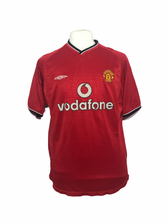 "Manchester United 2000-2001 HOME ""L"""
